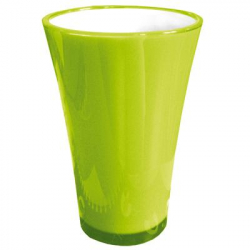Vase PVC Fizzy H27 D16cm Vert
