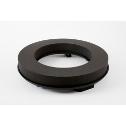 COURONNE 50CM - Mousse Eychenne Noire 50cm par 2