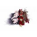 Raquette Mousse Eychenne Noire 50cm par 10