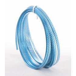 X-CUT - Fil alu Résille 5mm x 8m Turquoise