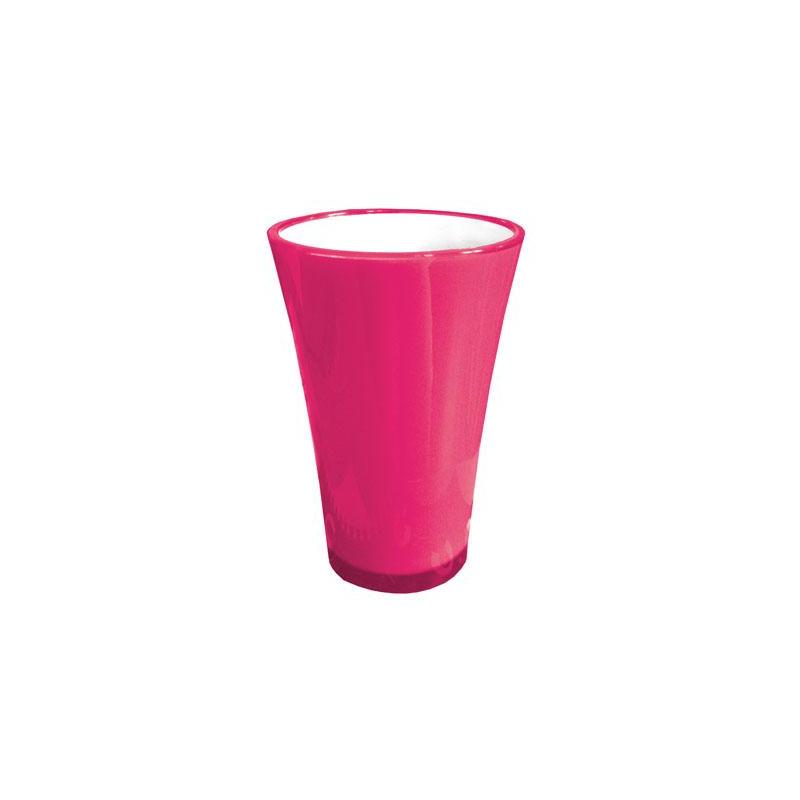 Vase Fizzy H45 D29.4 Fuschia