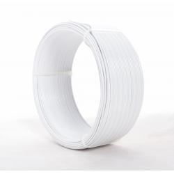 Fil Alu 2mmx60m Blanc