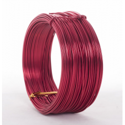Fil Alu 2mmx60m Rouge