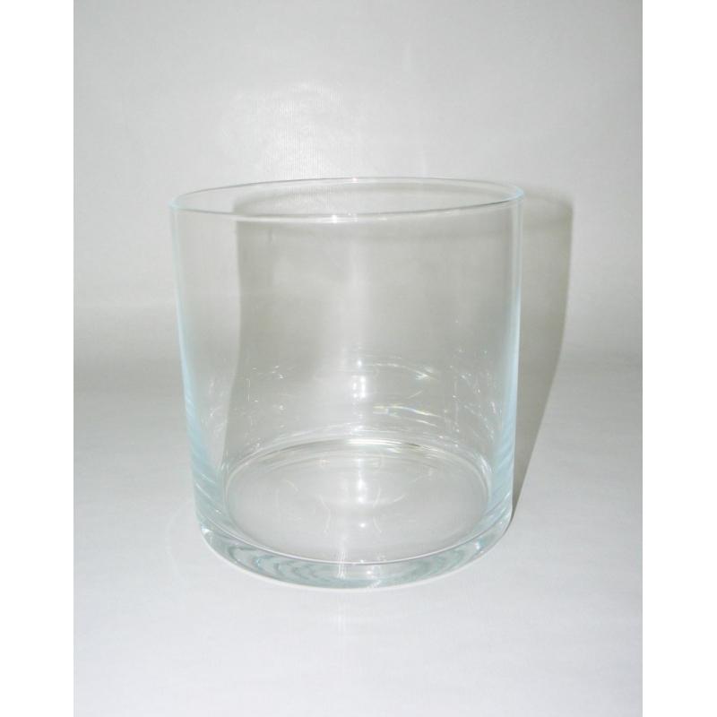 Pot verre cylindre D18 H18