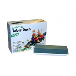 TABLE DECO MEDI - Mousse OASIS Medium par 4