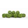 Boule de Rotin d4 cm Vert par 24