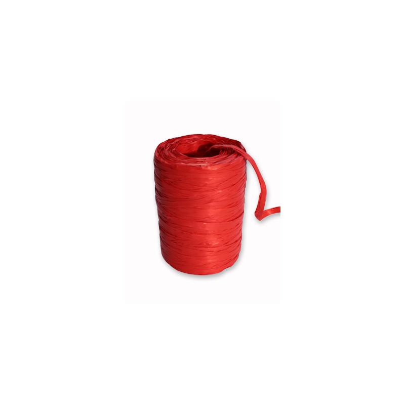 Raphia Synthétique Rouge 200m