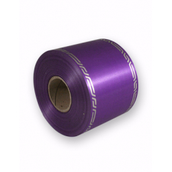 Ruban Deuil Ceremony 75mmx46m Violet