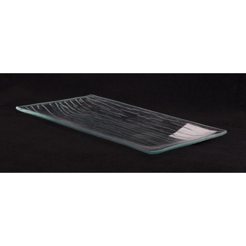 BAMBOO - Verre Plat L20.5 cm x P10.5 cm x H1.5 cm