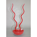 Bougie Spirale 44cm Rouge x12