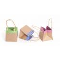 SOPHIE - Sac carton L13 x P13 x H13 cm Vert par 10