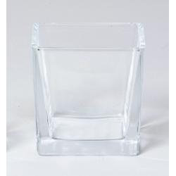 Cube Verre 8x8 h8 cm par 6