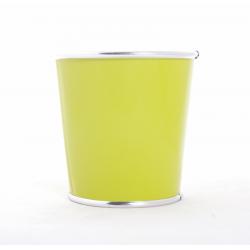 ORORA - Cache Pot Zinc D10,5 x H10 cm Vert
