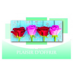PLAISIR D'OFFRIR - Carte Tendresse Doubles