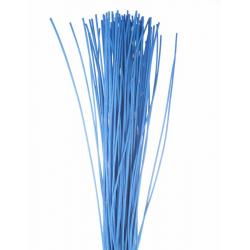 ROTIN DROIT - Botte de 80cm Bleu par 125 g