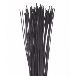 ROTIN DROIT - Botte de 80 cm Noir par 125 g