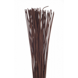 ROTIN DROIT - Botte de 80 cm Marron par 125 g