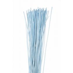 ROTIN DROIT - Botte de 80 cm Turquoise par 125 g