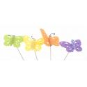 Pique Papillon Feutrine H20cm Par12
