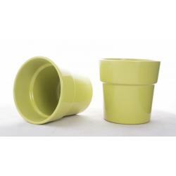 ORCH - Cache-pot Vert avec...