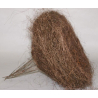 Support Sisal Marron par 10