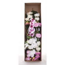 Boîte Camaieu Rose/Blanc