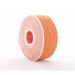 MERLETTO - Dentelle 40 mm x 8 m Orange