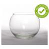 Vase Verre Boule D8/11 x H8.5 cm
