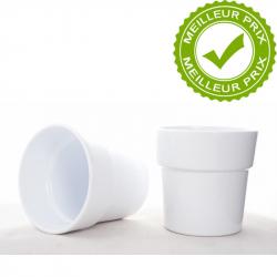 ARTIKEL - Cache-pot Blanc D13.5 x H12.5 cm par 6
