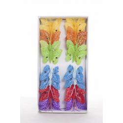 PYRO - Papillons 5 cm par 24