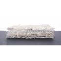 CADRE ROTIN - Carré en Rotin L20 x P20 cm Blanc par 7