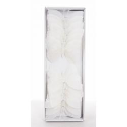 DIAP - Papillon 8 cm Blanc Par12