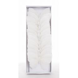 Papillon sur Tige Blanc 10...