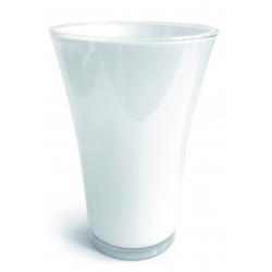 Vase PVC Fizzy H27 D16cm Blanc