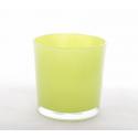 Vase Cylindre d13 x h12.5 cm Vert