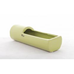TUBE Céramique - Vert L20 x 5 cm par 2