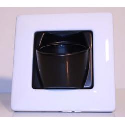 Clip'Pot 1 plante Blanc-Noir
