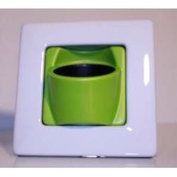 Clip'Pot 1 plante Blanc-Vert