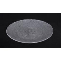 NEIL - Assiette en Verre Ronde 20 cm