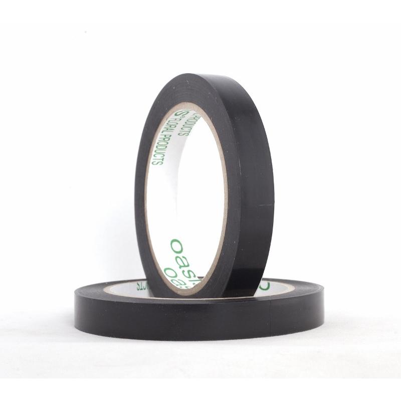 PERMACEL - Adhésif PVC Noir 15 mm x 33 m