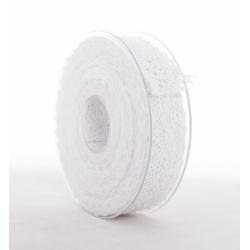 MERLETTO - Dentelle 25 mm x 8m Blanc