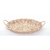 Plateau Fromage Osier Blanc 25cm
