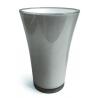 Vase PVC Fizzy H20.5 D14cm Gris