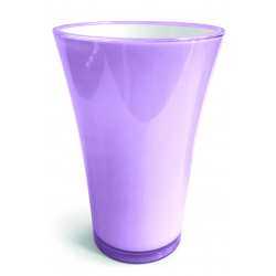 FIZZY - H45 x D29,4 cm Vase PVC Parme