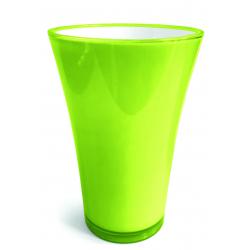 FIZZY - H35 x D20,4 cm Vase PVC Vert