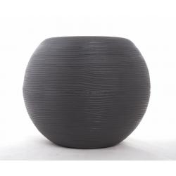 SHABBY - Pot Rond Gris D40 x H33 cm
