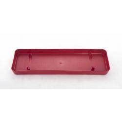 TALIA - Soucoupe Jardinière 40 cm Rouge