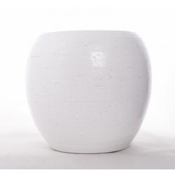 NESMA - Pot Blanc D24 x H21 cm