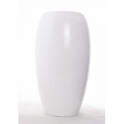 Vase Blanc D22H40cm
