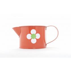 LENISA - Arrosoir Fleur D10 x H8 cm Orange